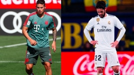 Isco e James Rodriguez accendono il mercato: dove giocheranno?