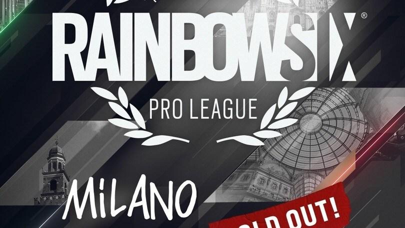 R6, finali Pro League a Milano: ed è subito sold out