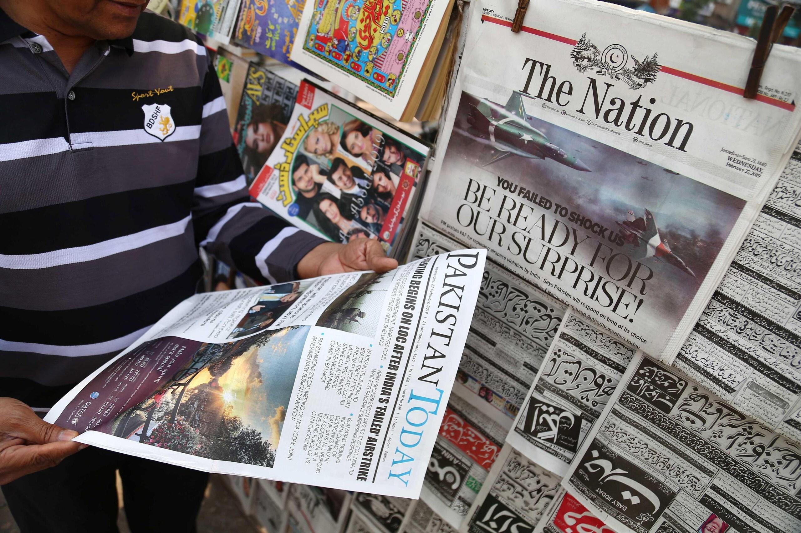 Kashmir:presi piloti jet India abbattuti