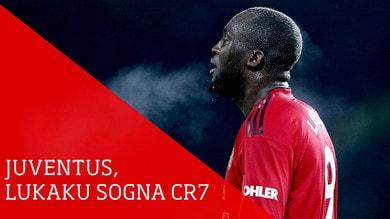 Juventus, Lukaku sogna di giocare con CR7