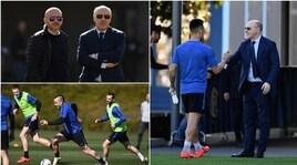 Marotta scuote l'Inter: ad Appiano insieme ad Ausilio