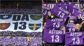 Fiorentina-Atalanta, il Franchi ricorda Davide Astori
