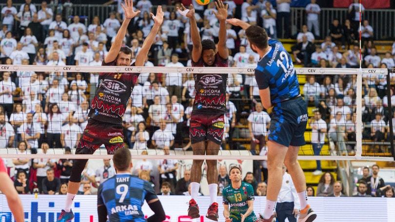 Volley: Champions League, Perugia chiude la Pool E a punteggio pieno