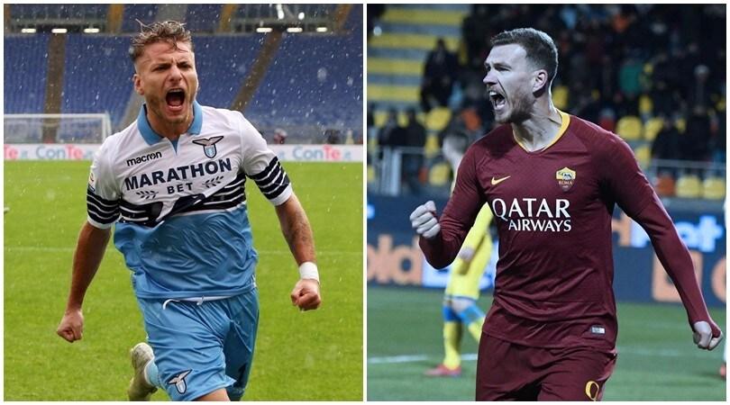 Derby Lazio-Roma, probabili formazioni: Immobile sfida Dzeko