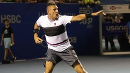 Tennis, Acapulco: Kyrgios-show, salva 3 match point e batte Nadal