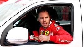 F1 Ferrari, Vettel: «Non conosciamo i motivi dell'incidente»