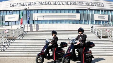 Vespa e Carabinieri: partnership green