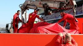 F1 Ferrari: «Un oggetto esterno ha causato incidente Vettel»
