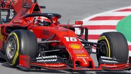 F1 test Barcellona: Leclerc vola in testa