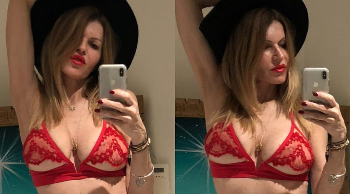 Rita Rusic e i selfie che infiammano i social