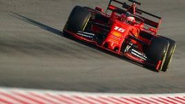 F1, Leclerc ancora primo nei test