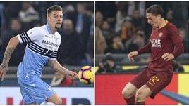 Lazio-Roma: tutti i numeri del derby