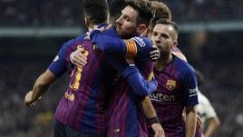 Liga, ancora il Clasico: Barça avanti a 2,45