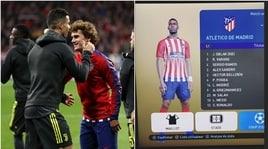 """Griezmann e il suo super 11: """"compra"""" Pogba e Cristiano Ronaldo"""