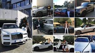 Juve, il parco macchine di Ronaldo: l'ultimo acquisto è la McLaren Senna
