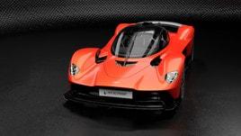 Valkyrie, la supercar estrema di Aston Martin: le foto