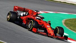 F1, Vettel chiude i test davanti a Hamilton