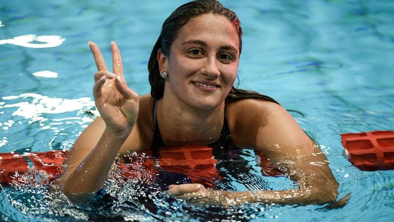 Ledecky rinuncia ai 1.500, Quadarella nuota per l'oro