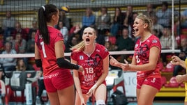 Volley: A1 Femminile, Conegliano-Scandicci big match al Pala Verde