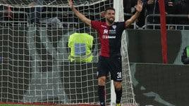 Serie A Cagliari, Pavoletti e Thereau in gruppo