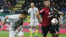 Serie A Cagliari-Inter 2-1, il tabellino