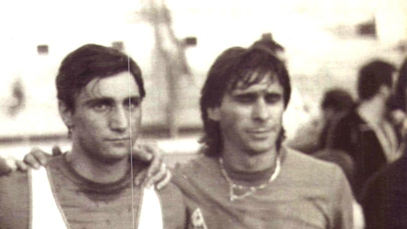 Bruno e Bruno, due artisti del pallone