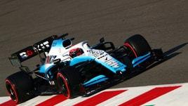 F1 Williams, Kubica: «Non è stata la giornata che speravo»