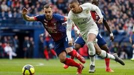Ligue 1: Mbappè trascina il Psg, battuto anche il Caen
