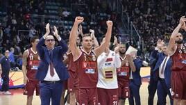 Basket Serie A, Venezia rimonta a Bologna: 76-77