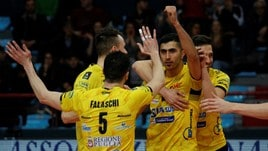 Volley: Superlega, Castellana Grotte vince ancora al tie break