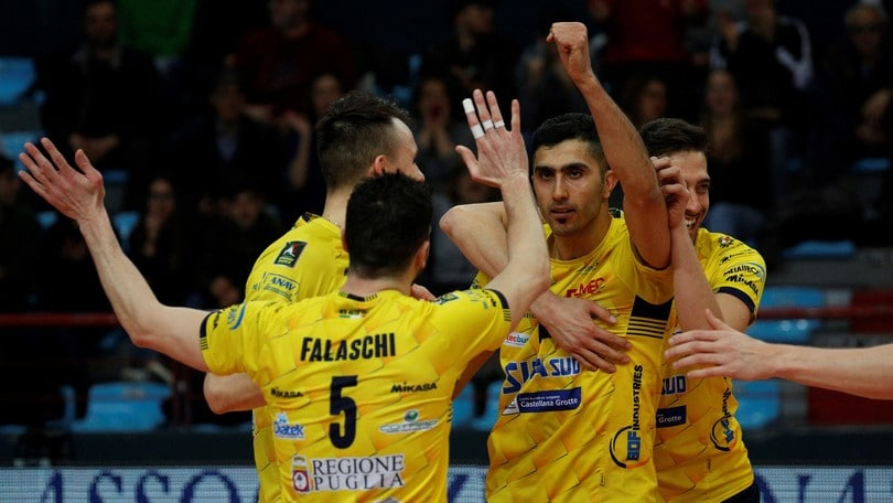 Volley: Superlega, Castellana Grotte vince ancora al tie break