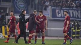 Roma, tifosi umiliati: «Squadra vergognosa, difesa da zona retrocessione»