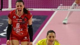 Volley: A1 Femminile, Busto festeggia, battuta Brescia nel derby