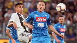 Diretta Napoli-Juventus ore 20.30: dove vederla in tv e probabili formazioni