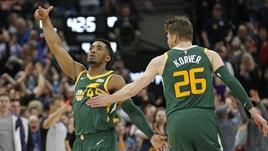 NBA, i Lakers sempre più nei guai. Utah ferma Milwaukee, Phila ko contro Golden State