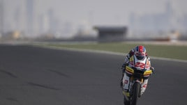Moto2, Lowes primo nei test in Qatar