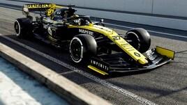 F1 Renault, Hulkenberg: «Incoraggiato dopo i test»