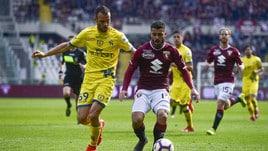 Serie A Torino-Chievo 3-0, il tabellino
