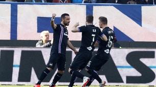 Quagliarella fa volare la Sampdoria, la Spal si infuria col VAR