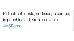 Roma, i tifosi sui social scaricano la squadra: «Imbarazzanti, sono da sesto posto»