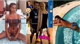 Rossi è Icardi, la fidanzata fa Wanda Nara: pronti per carnevale