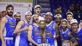 Basket Serie A2, la De' Longhi Treviso vince la Coppa Italia