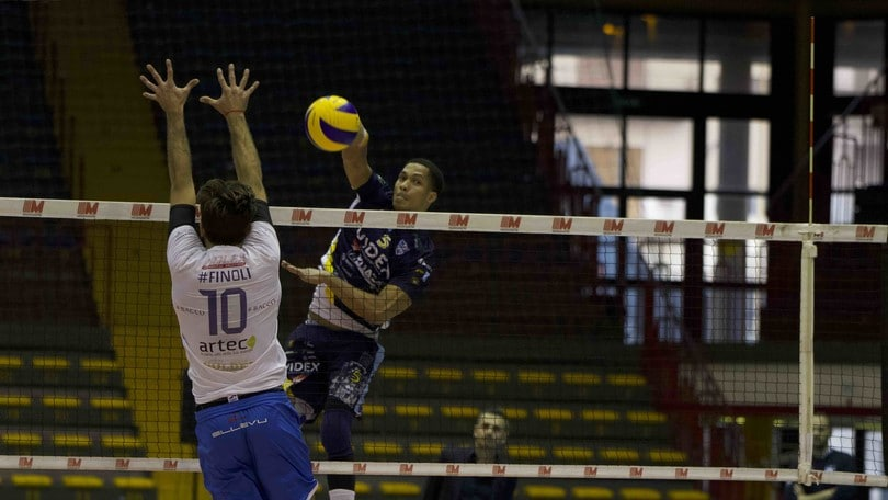 Volley: A2 Maschile, Girone Blu, Castellana Grotte e Gioia del Colle perdono un punto