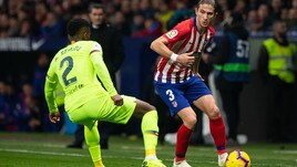 Atletico Madrid: Filipe Luis rischia di saltare la Juve