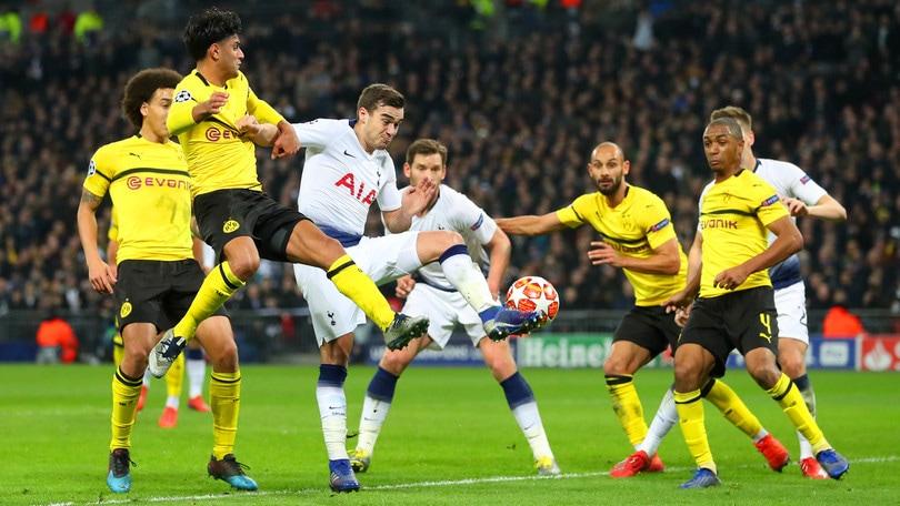 Diretta Borussia Dortmund-Tottenham ore 21: come vederla in tv e probabili formazioni