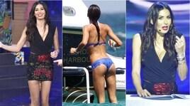 "Elisabetta Gregoraci, décolleté e minigonna: che look per ""Made in Sud""!"