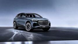 Audi Q4 e-tron concept, il Suv elettrico presentato al Salone di Ginevra