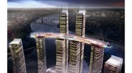 Skywalk, hotel di lusso e ristoranti: ecco il grattacielo orizzontale!