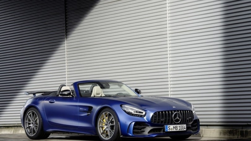 Mercedes-AMG GT R Roadster, show a Ginevra