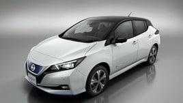 A Ginevra la Nissan presenta Leaf, una nuova gamma per l'Europa
